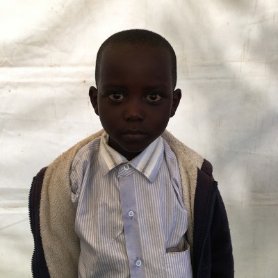 Onesmus Kinoti, one of the children helped by Eudaimonia through Child Sponsorship Kenya