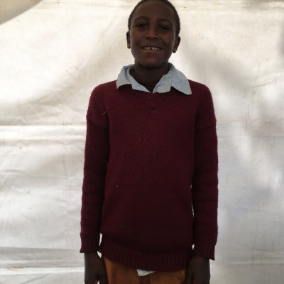 Antony Kinyua, one of the children helped by Eudaimonia through Child Sponsorship Kenya