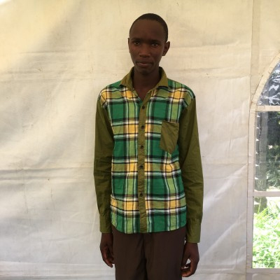 Clinton Munene, one of the children helped by Eudaimonia through Child Sponsorship Kenya