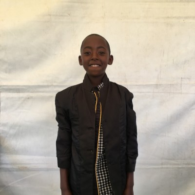 George Koome, one of the children helped by Eudaimonia through Child Sponsorship Kenya