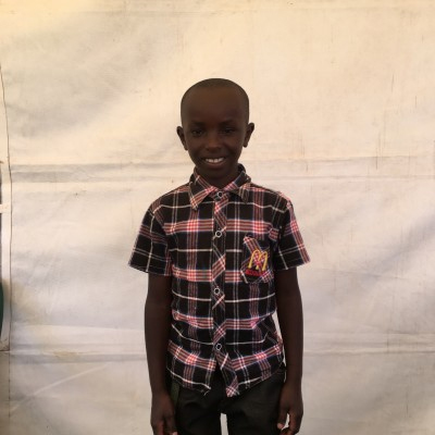 Martin Muriungi, one of the children helped by Eudaimonia through Child Sponsorship Kenya