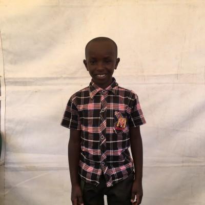 Martin Muriungi, one of the children helped by Eudaimonia through Child Sponsorship Kenya