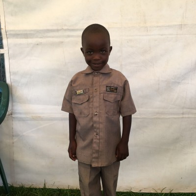 Nicholas Kimathi, one of the children helped by Eudaimonia through Child Sponsorship Kenya