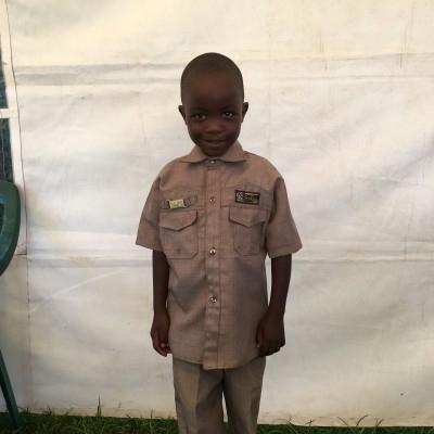 Nicholas Kimathi, one of the children helped by Eudaimonia through Child Sponsorship Kenya