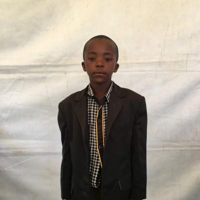 Nickson Murangiri, one of the children helped by Eudaimonia through Child Sponsorship Kenya
