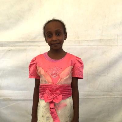 Sumeya Makena, one of the children helped by Eudaimonia through Child Sponsorship Kenya