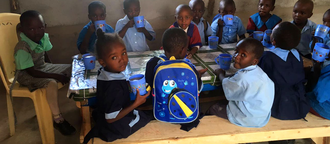 Eudaimonia have developed a Kindergarten / School called The Dimmock International Academy, on our block at Lewa Downs